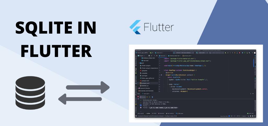 Using Sqflite in Flutter Application